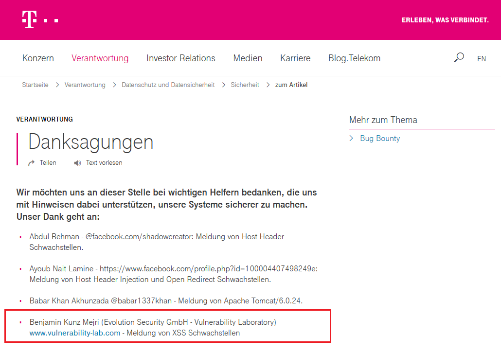 Telekom Cloud & Web SSO vulnerable to Bypass & Persistent